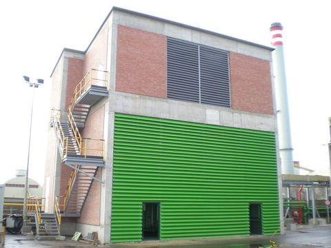dmA - Cerramiento de fachada en Azsa. - Desarrollos Metálicos Asturias S.L.