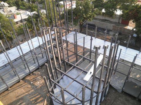 dmA - Estructura para edificio en Puerto Príncipe (Haití) - Desarrollos Metálicos Asturias S.L.
