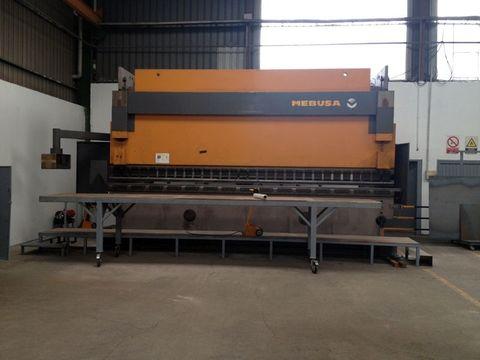 dmA -  Nueva inversión en máquina plegadora - Desarrollos Metálicos Asturias S.L.