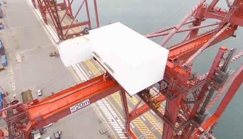 dmA -  Edificios Prefabricados puertos en África - Desarrollos Metálicos Asturias S.L.