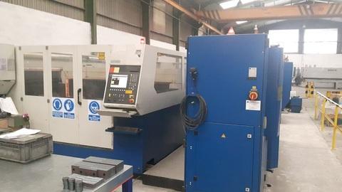 dmA -  Nueva Máquina de corte por laser - Desarrollos Metálicos Asturias S.L.
