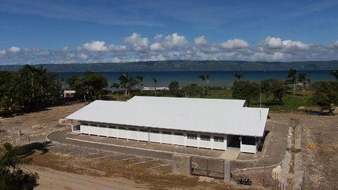 dmA - Hospital en Saint Louis du Nord (Haití) - Desarrollos Metálicos Asturias S.L.